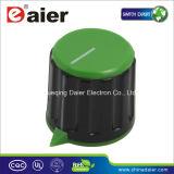 Colorful Audio Plastic Slide Potentiometer Knob with Sharp Corner