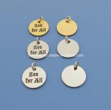 Custom Small Jewelry Tag/Charm/Pendant (Box-MAR-jewelry tag-140904)