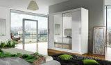 Bedroom Furniture Mirror Sliding Door Wardrobe Closet (HF-EY0812)