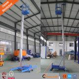 8m 10m Hydraulic Vertical Aluminum Man Lift Aerial Platform Lift