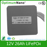 Rechargeable 12V 26ah Lithium Battery Pack