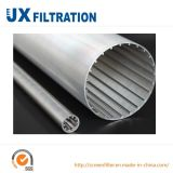 304 Welded Wedge Wire Mesh Screen Pipes