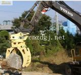 Excavator Attachment Large Capacity Lifting Grab Bucket