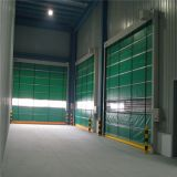 Customized Automatic Plastic Stacked Garage Door (HF-2030)
