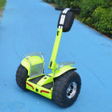 2017 Apple Green Two Wheel Electric Motor Scooter