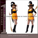 2015 Women Witch Party Fancy Dress Holiday Halloween Costume (TGW0107)