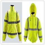 Hi-Vis Safety Padded Reflective Working Jacket with En471/ANSI/Isea