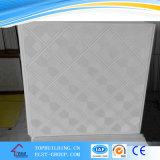PVC Laminated Gypsum Ceiling Tile 603*603*9mm/PVC Perforated Gypsum Ceiling Tile