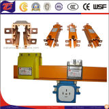 Mobile Devices Tubular Enclosed Copper Crane Conductor Rail