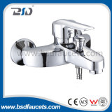 Wall Mounted Chrome Single Handle Bath Mixer Brass