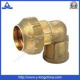 Forged Female Bsp Thread Spanish Brass Fitting (YD-6045)