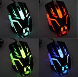 Multicolor LED Backlight 6D Gamer Mouse