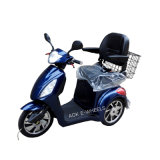 Safe Driving 3 Wheel Electric Tricycle, Electric Mobility Scooter for Old People (TC-016 with deluxe saddle)