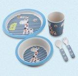 BPA Free Bamboo Fiber Kitchenware Kids Dinnerware Set (YK-KS012)