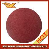 Velcro sanding disc and fibre disc