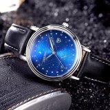 366 Hot Fashion Men Watch Blue Luxury Style Business Wrist Watch for Men