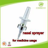 Factory Direct Sale Silver Collar Medicin Uasge Nasal Sprayer
