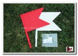Red +White Plastic Flags for Horse Show Jumps Show Jumping Acccessories Equestrian Jumps