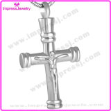 Men′s Crucifix Cross Urn Stainless Steel Cremation Keepsake Jewelry