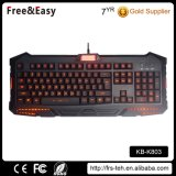 Waterproof Professiona RGB LED Wired Gaming Keyboard