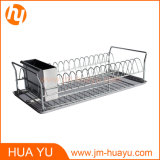 Stainless Steel Dish Drainer Drying Rack with Removable Tray