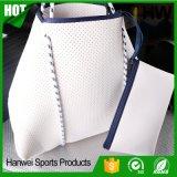 2017 New Design Perforated Neoprene Tote Bag