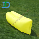 Outdoor Yellow Air Sleeping Inflatable Beach Bed