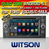 Witson Android 5.1 Car DVD for Ford Focus/C-Max/Fiesta (W2-F9488FB)