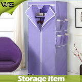 New Style Popular Closet Organizer Foldable Nonwoven Fabric Wardrobe