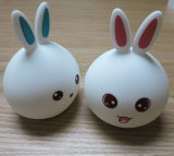 LED Color Change Silicone Rabbit Touch Sensor Night Lamp