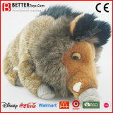 Realistic Plush Stuffed Animal Boar Soft Wild Pig Toy