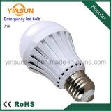 High Quality Battery Backup Smart 7W E27 LED Emergency Bulb (3W-15W)