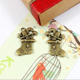 Beautiful Christmas Gift for Scrapbooking Alloy Embellishment