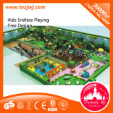 Nursery School Kids Multigame Indoor Playground Equipment with Ball Pool