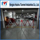 Traffic Barrier, Red/White and Yellow/Black Color Folding Gate