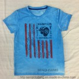 Fashion Soft Washing Boy T-Shirt in Kids Clothes Sq-6318
