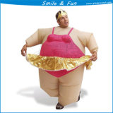 Inflatable Ballerina Costume for Adults