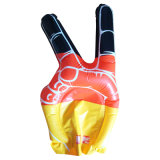 PE Inflatable Customized Cheering Hands for Promotional