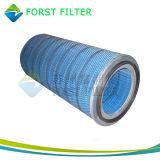 Forst Gas Turbine Air Compressor Pleated Cellulose Filter Cartridge