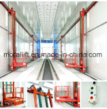 3D Platform Lift Used in Spraying Room