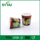 New Style Custom Flexo Printed Disposable Double Wall Paper Cup
