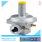 5 Bar Casting Aluminum Nature Gas Regulator with Gauge