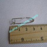 Nickel Plated Steel Crimp Safety Pin for Badge Backs