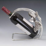 Silver Plated Wine Holder (WY17090A-2)