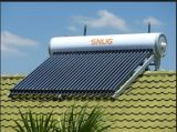 Roof Type Low Angle Solar Water Heater with 7 Years Warranty