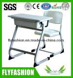 Classroom Furniture Plastic School Desk and Chair Set (SF-46)