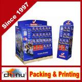POS Retail Cardboard Paper Display Shelf (6137)