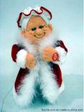 Christmas Valentine Halloween Animation Plush Toy Sexy Mrs Santa /Claus