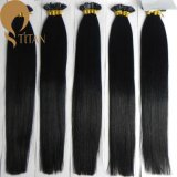 Natural Black Pre Bonded Nail Tip Hair Extension