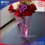 Wholesale Pink Waterproof Acrylic Vase